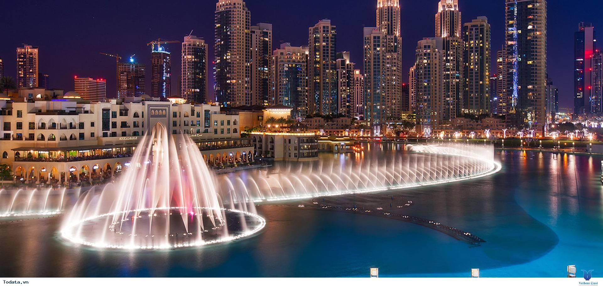 Mãn Nhãn Với Đài Phun Nước Lớn Nhất Thế Giới Ở Dubai - Ảnh 4
