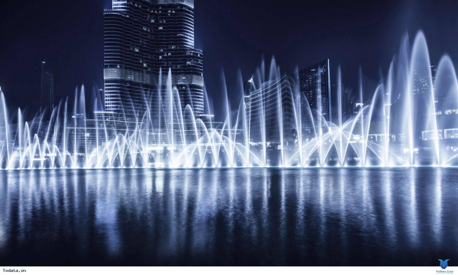Mãn Nhãn Với Đài Phun Nước Lớn Nhất Thế Giới Ở Dubai - Ảnh 8