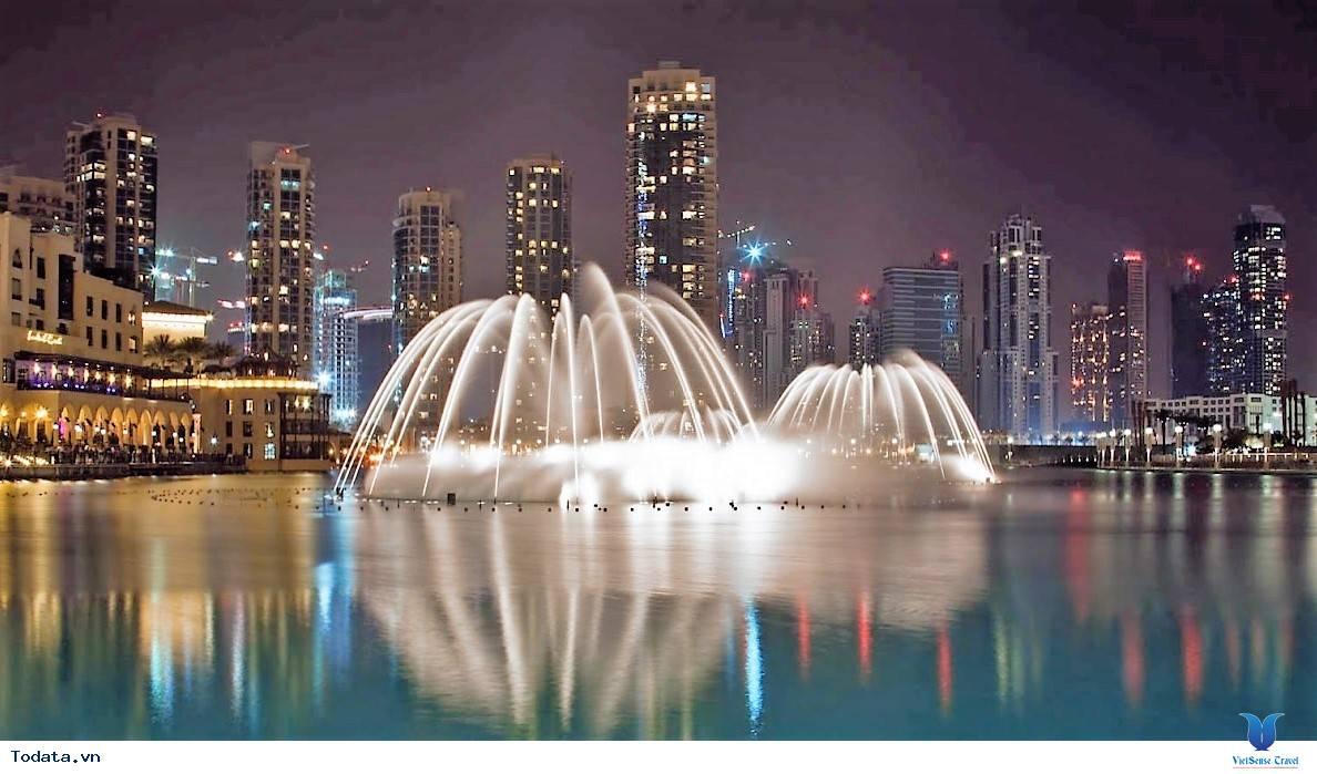 Mãn Nhãn Với Đài Phun Nước Lớn Nhất Thế Giới Ở Dubai - Ảnh 1