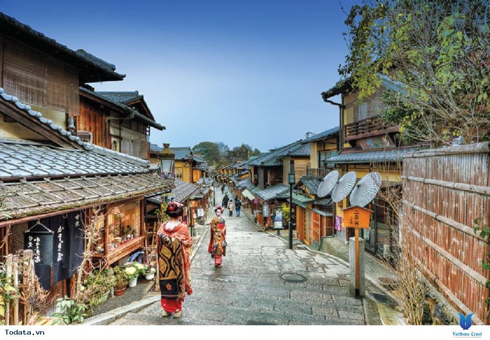 Ngắm càng nàng geisha xinh đẹp ở khu phố cổ Gion - Ảnh 1