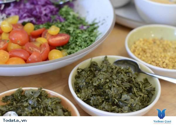 Salat Lá Trà- Món Ăn Lạ Của Người Myanmar - Ảnh 3