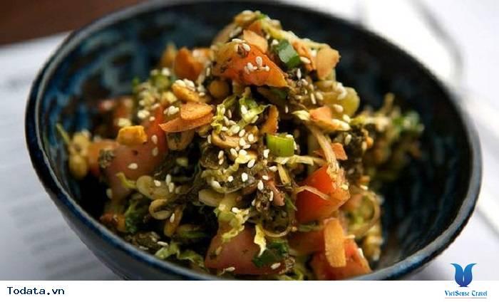Salat Lá Trà- Món Ăn Lạ Của Người Myanmar - Ảnh 6