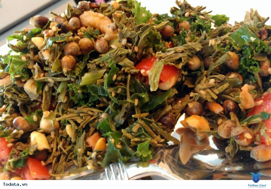Salat Lá Trà- Món Ăn Lạ Của Người Myanmar - Ảnh 1