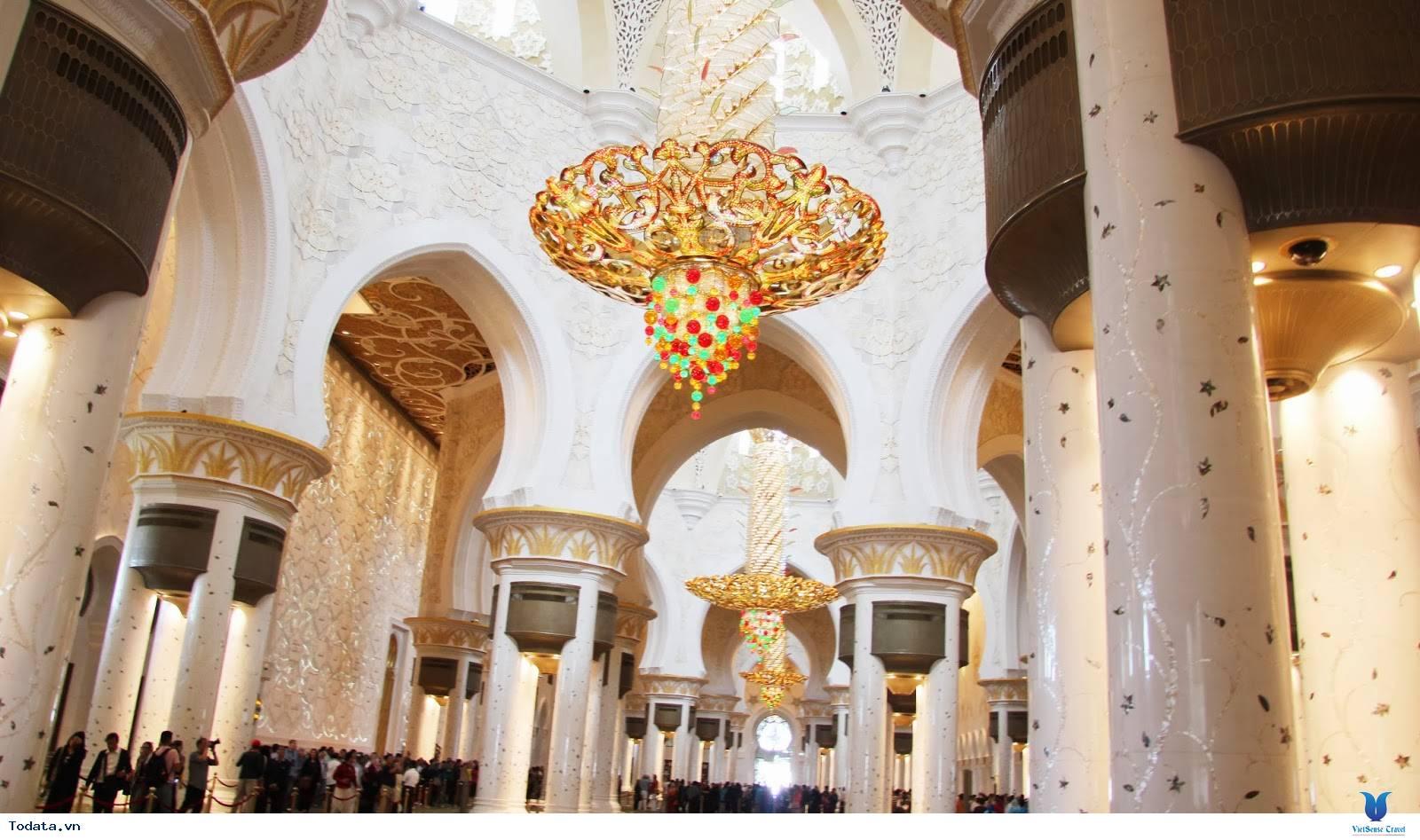 Sheikh Zayed- Thánh Đường Tuyệt Đẹp Chốn Nhân Gian - Ảnh 4