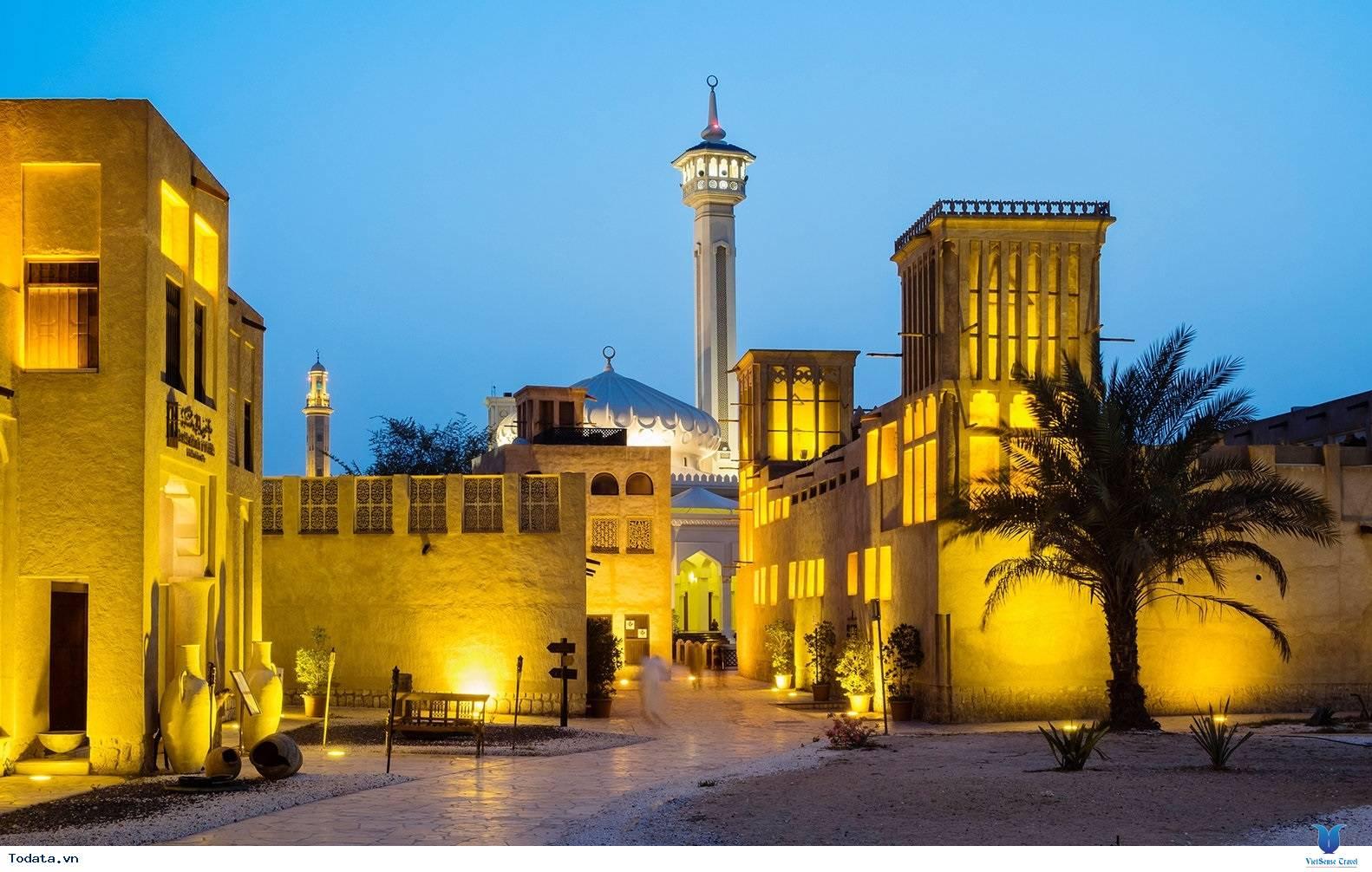 Tìm lại Dubai Cổ Kính Qua Góc Phố Cổ Al Bastakiya - Ảnh 1