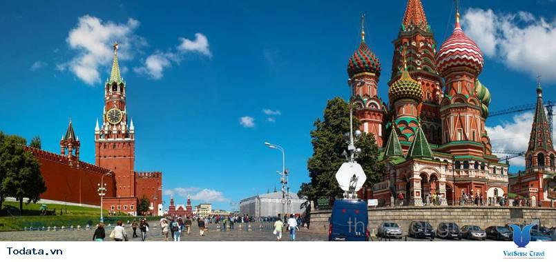 Tour Du Lịch Nga 7 Ngày - Moscow - Saint Peterburg Từ Hà Nội - Ảnh 1
