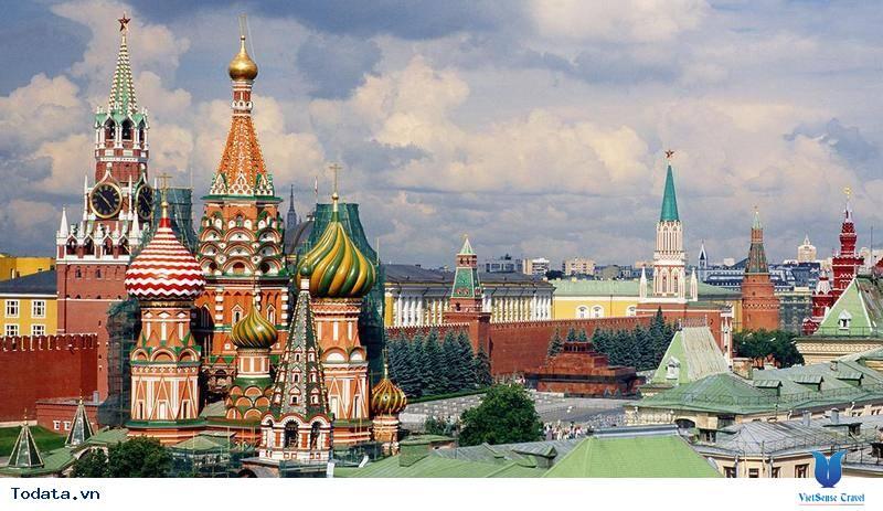 TOUR MOSCOW - SAINT PETERBURG [8N7Đ] - Khởi Hành Tháng 9/2018