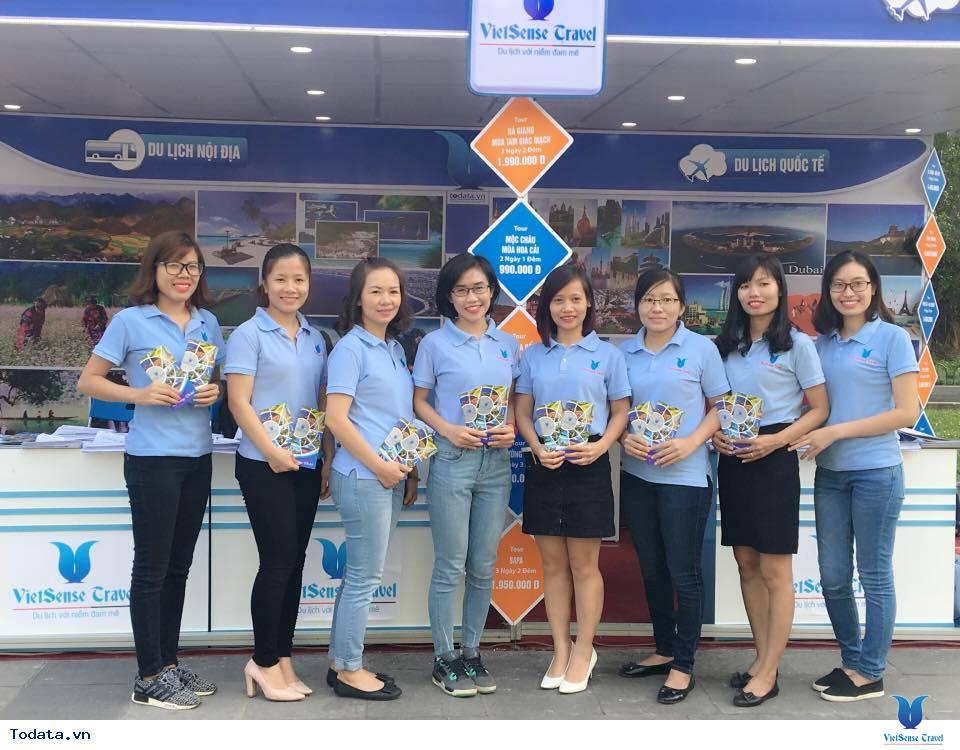 Vietsense Travel tưng bừng ngày hội khuyến mãi du lịch Hà Nội 2016 - Ảnh 1